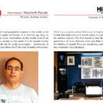 HiFiTODAY Editor interviewed on High Fidelity Magazine
