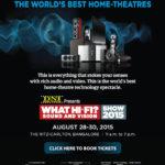 What Hi-Fi Show 2015 Ritz-Carlton Bangalore